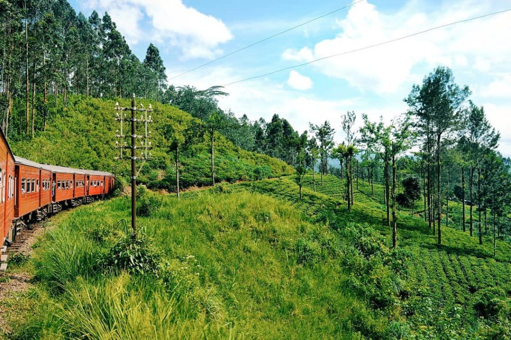 treno panoramico sri lanka