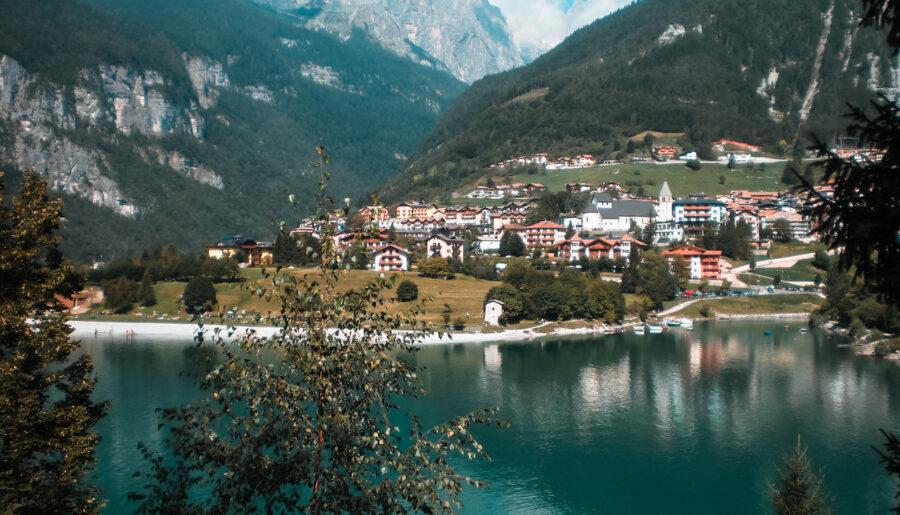 Lago di Molveno, il mare in Trentino