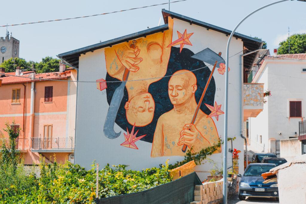 murale gemini aielli