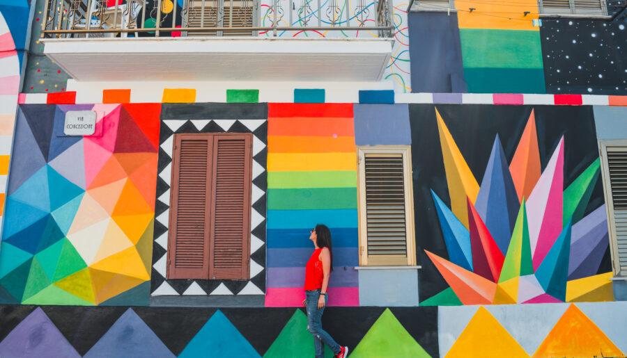 Aielli: il borgo dei murales