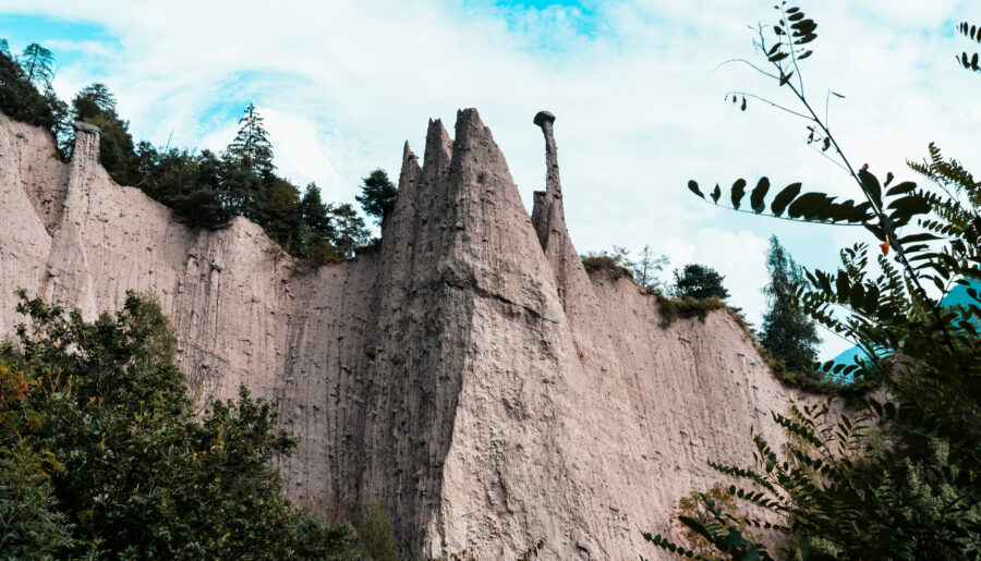 Escursioni nei dintorni di Trento: Lago di Santa Colomba, Lago di Lases e Piramidi di Segonzano