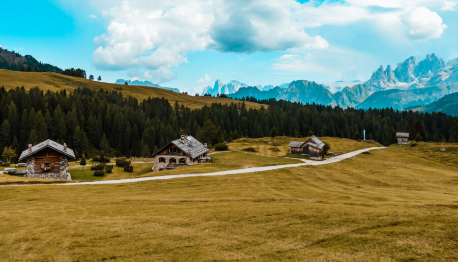 Trekking semplice in Trentino:  Passo San Pellegrino – Soraga di Fassa