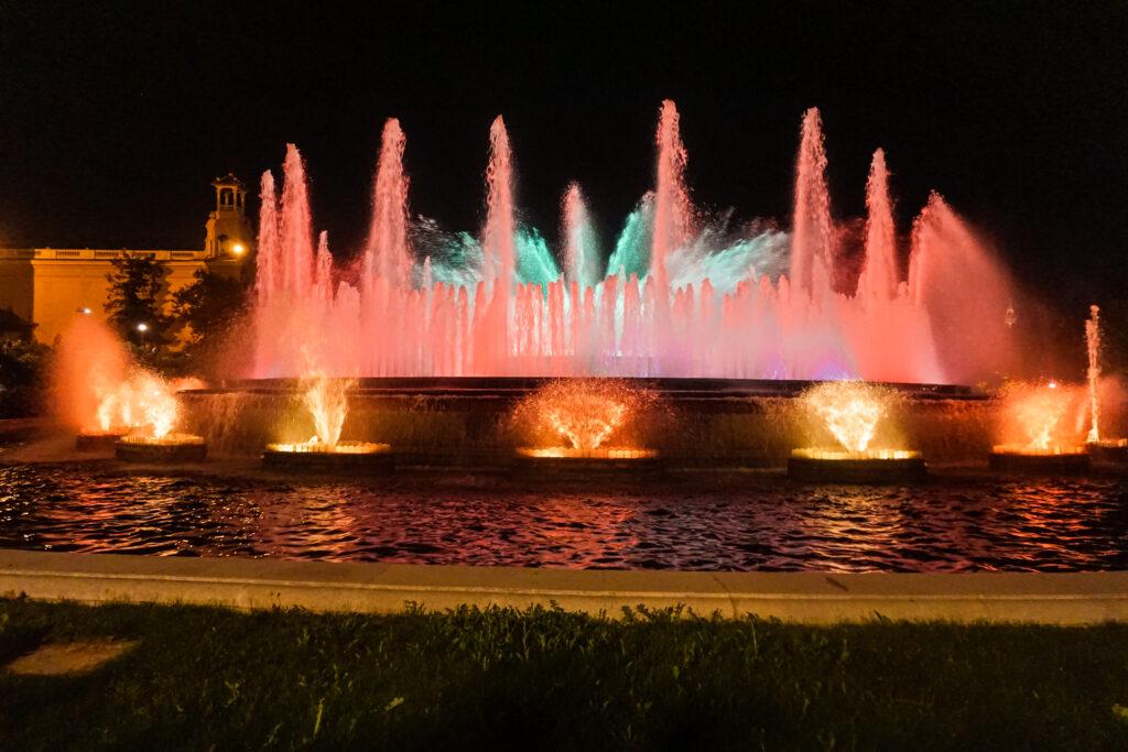 fontana magica montjuic barcelona