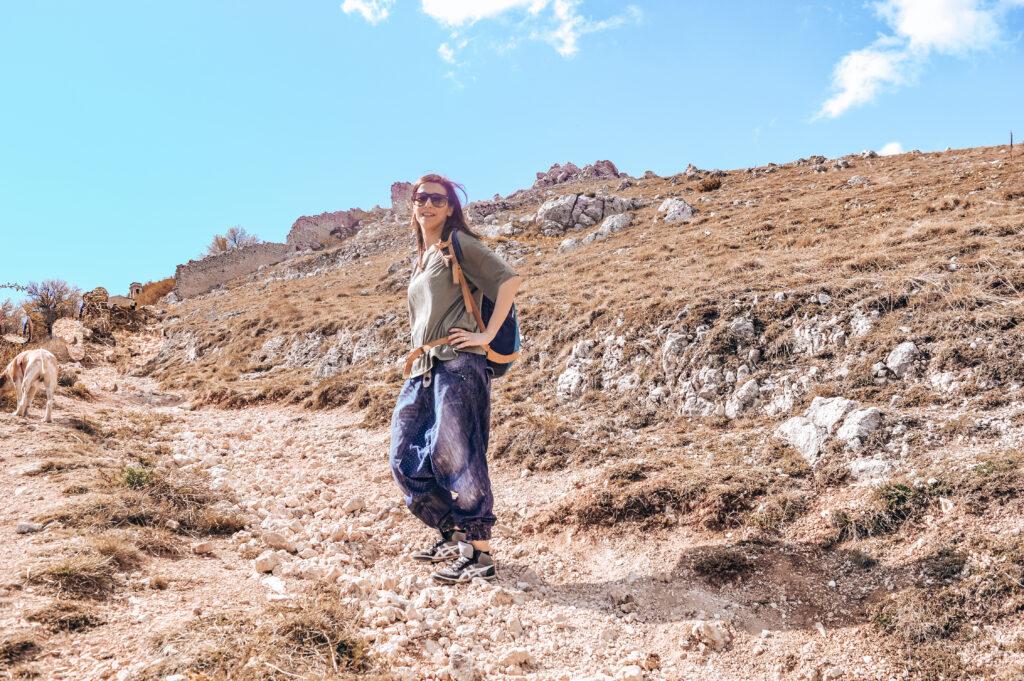 sentiero rocca calascio